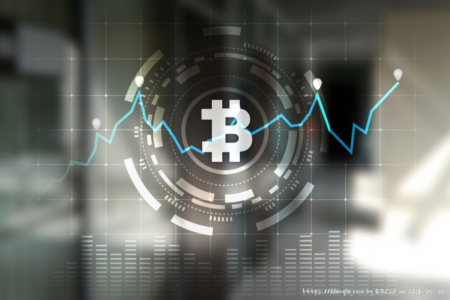 Cryptocurrency graph on virtual screen (2).jpg