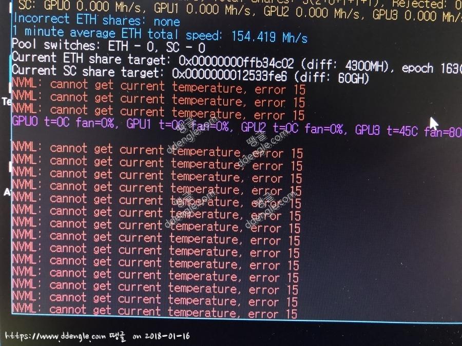 Cannot Get Current Temperature Error 15 Claymore - gaurani